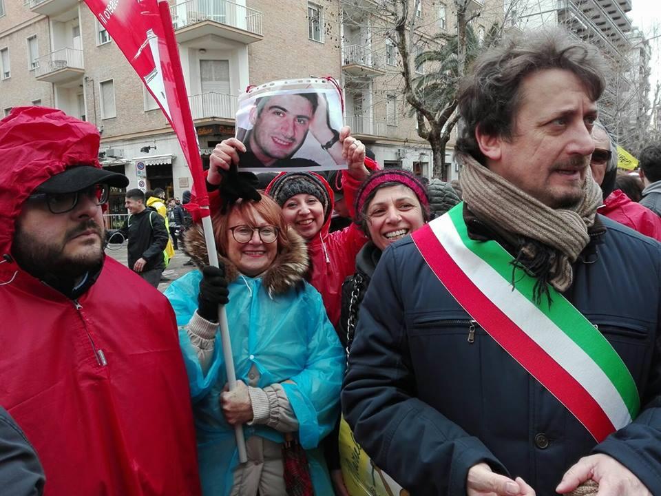 Foggia: AR di Acquaviva delle fonti con il Sindaco Carlucci, omaggiano Attilio Manca
