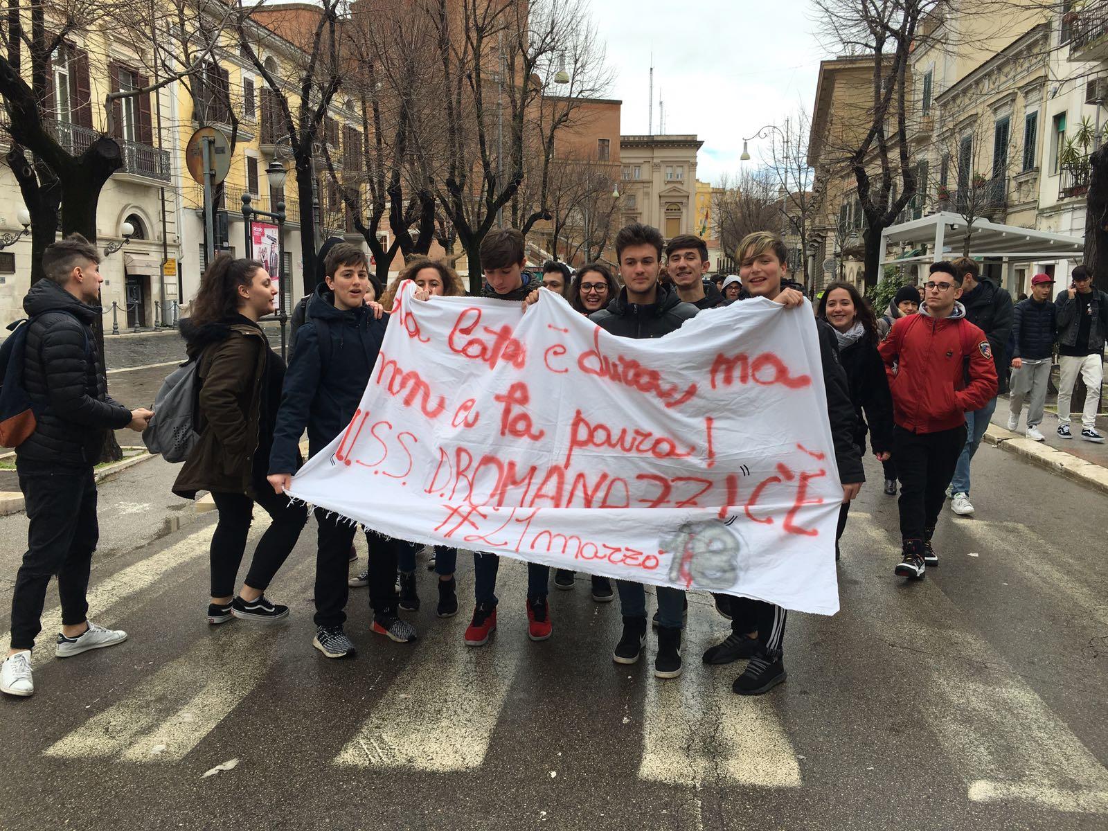 Foggia: I ragazzi dell'IISS Romanazzi di Bari