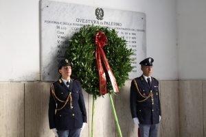 commemorazione di Ninni Cassarà e Roberto Antiochia