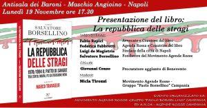 """Presentazione libro """"La Repubblica delle stragi"""" a Napoli @ Antisala dei Baroni"""