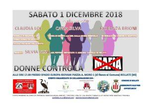Donne contro la mafia a Bollate (Mi) @ Spazio Europa Giovani