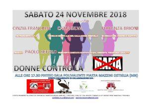 Donne contro la mafia a Ostiglia (MN) @ Sala Polivalente