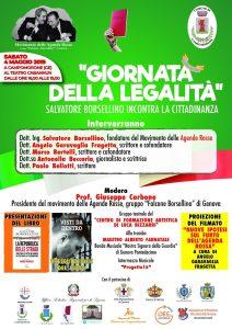 Giornata della legalità - seconda edizione - a Campomorone (GE) @ Campomorone (GE)