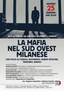 """La mafia nel sud ovest milanese @ sala """"La Pianta"""""""