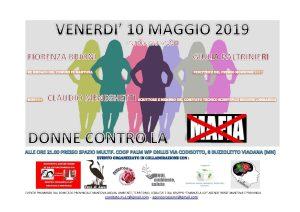 Donne contro la mafia a Viadana (MN) @ Viadana (MN)