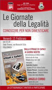 Angelo Corbo a Follonica (GR) @ Sala Tirreno