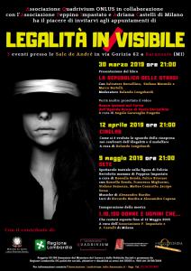 Legalità invisibile - 'La Repubblica delle stragi' @ Sala De Andrè