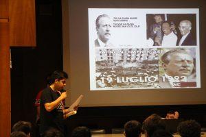 Siena percorso legalità con l'Istituto Sarrocchi