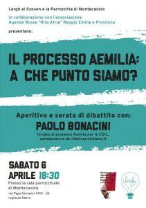 IL PROCESSO AEMILIA: A CHE PUNTO SIAMO? @ Sala Parrocchiale