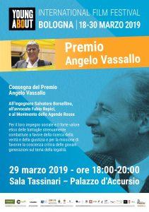 Premio Angelo Vassallo a Salvatore Borsellino, Fabio Repici ed al Movimento Agende Rosse @ Bologna