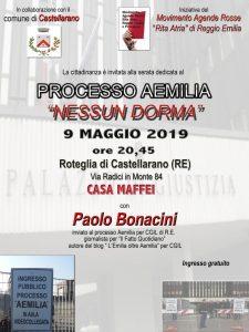 """Processo Aemilia """"NESSUN DORMA"""" a Roteglia di Castellarano (RE) @ Casa Maffei - Roteglia di Castellarano (RE)"""