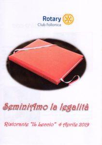 Mongiovì Catalano Rotary Club di Follonica