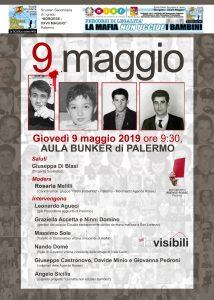 Palermo e Cinisi 9 Maggio 2019