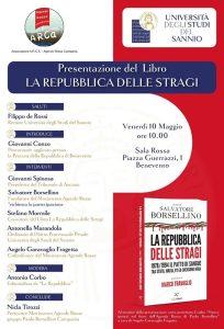 Presentazione 'La Repubblica delle stragi' - Benevento @ Sala Rossa