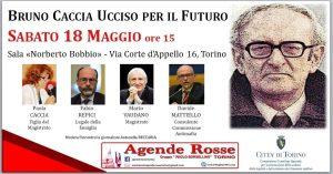 Torino - giornata dedicata al Procuratore Bruno Caccia @ Sala Norberto Bobbio