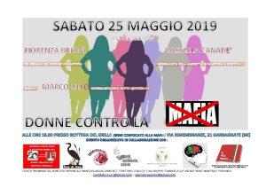 Donne contro la mafia a Garbagnate (MI) Evento Annullato @ La Bottega del Grillo