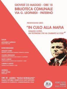 """Presentazione libro """" In culo alla mafia"""" @ Biblioteca Comunale"""