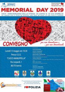 Isernia - Memorial Day 2019 @ I.S.I.S. Cuoco - Manuppella