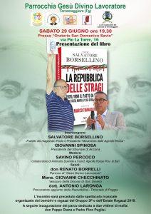 Salvatore Borsellino e Giovanni Spinosa a Torremaggiore (FG) @ Oratorio San Domenico