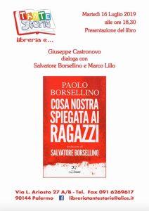 «Cosa nostra spiegata ai ragazzi» di Paolo Borsellino @ Libreria Tantestorie
