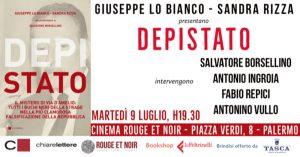 Presentazione libro 'DepiStato' - Palermo, 9/7/2019 @ Cinema Rouge et Noir