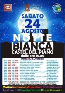 Le Agende Rosse alla Notte Bianca di Castel del Piano (GR) @ Castel del Piano (GR)