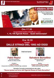 """""""Dalle stragi del 1992 ad oggi"""" a Cusano Milanino (MI) @ Comune di Cusano MIlanino"""
