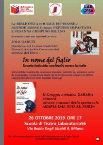 """""""In nome del figlio"""": a MIlano incontro con Jole Garuti @ Scuola di teatro Laboratorio56"""