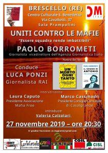 Uniti contro le mafie - Essere squadra rende imbattibili @ Brescello (Reggio Emilia)