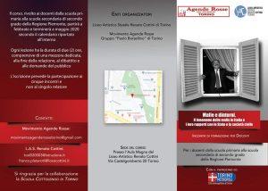 """Mafie e dintorni: dal Maxi al processo trattativa @ Liceo Artistico """"Renato Cottini"""""""
