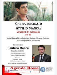 Torino - Chi ha suicidato Attilio Manca? @ Liceo Cottini - Torino
