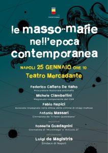 """Le """"masso-mafie"""" nell'epoca contemporanea @ Teatro Mercadante"""