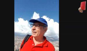 Salvatore Borsellino a Monte Pellegrino 19 luglio 2020