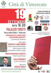 Presentazione nuovo gruppo Agende Rosse a Vimercate (MI) @ VIMERCATE - PALAZZO TROTTI
