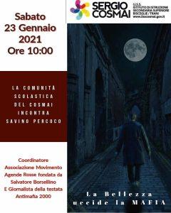 IISS Cosmai Bisceglie/Trani: La Bellezza uccide la mafia