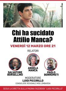 Chi ha suicidato Attilio Manca?