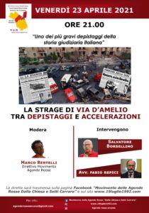 La strage di via D'Amelio tra depistaggi e accelerazioni @ Online