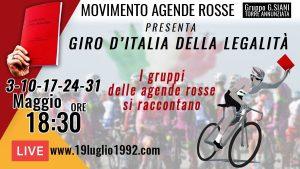 Il giro d'Italia della legalità