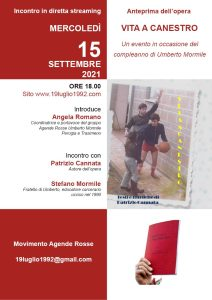 Buon compleanno Umberto - Anteprima dell'opera 'Vita a canestro' @ Diretta streaming